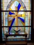 stain glass cross