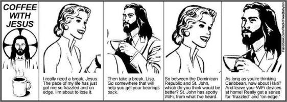 coffee w Jesus, Haiti