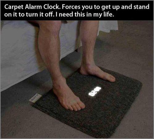 alarm rug