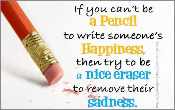 hap mon, pencil vs eraser
