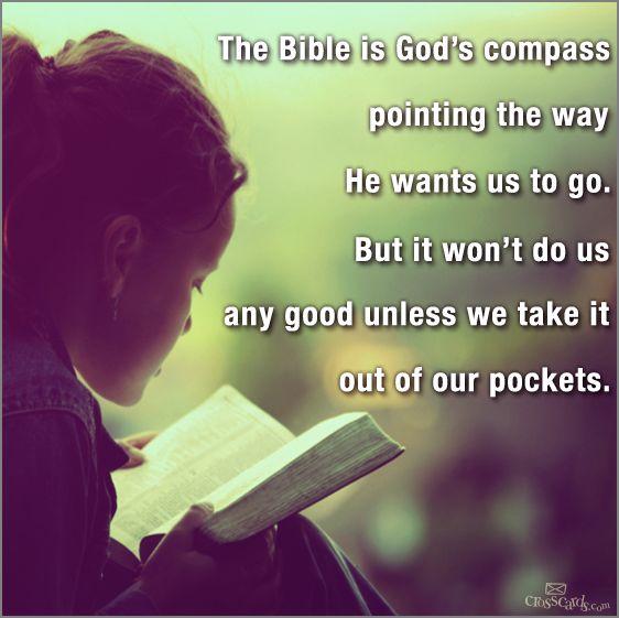 hap mon, read the Bible