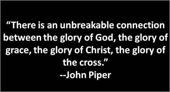 glory of God, piper