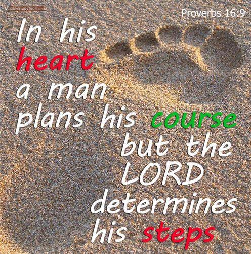 hap mon, proverbs 16 9