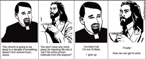coffee w Jesus, I give up