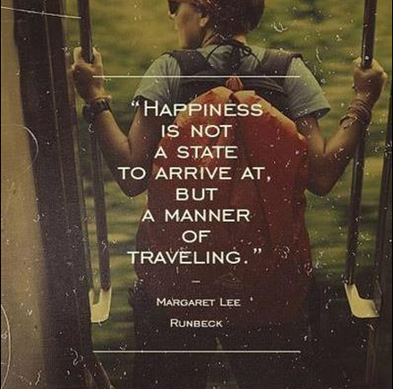 happiness, travel