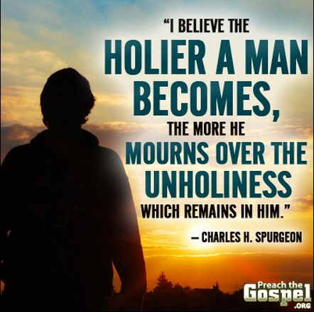 holiness, Spurgeon