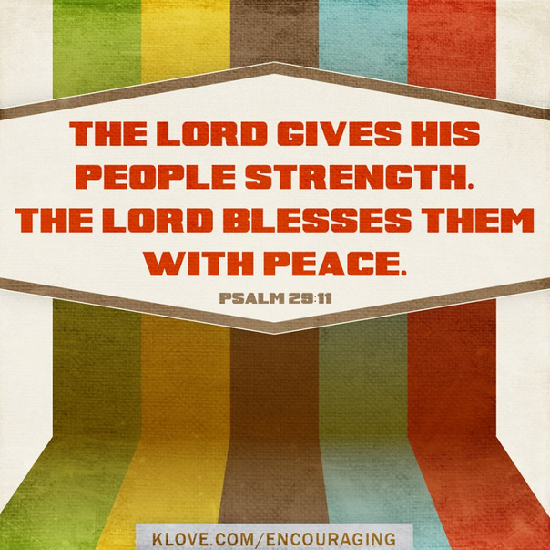 Psalm 29 11