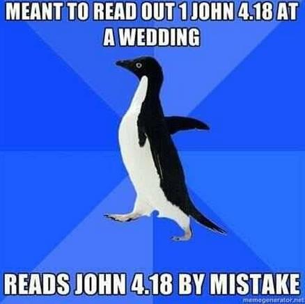 reading from John