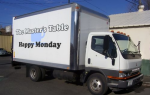 Happy Monday truck