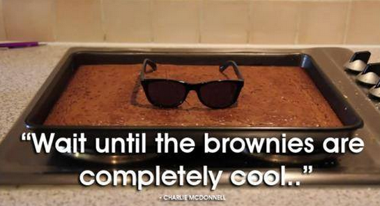 cool brownies