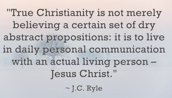J.C. Ryle on Christianity