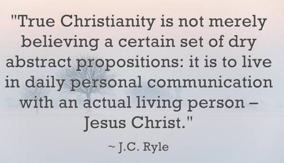 J.C. Ryle on Christianity