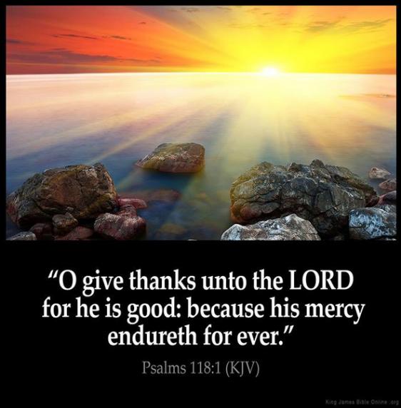 psalms 118 1