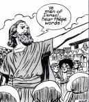 Peter preaches