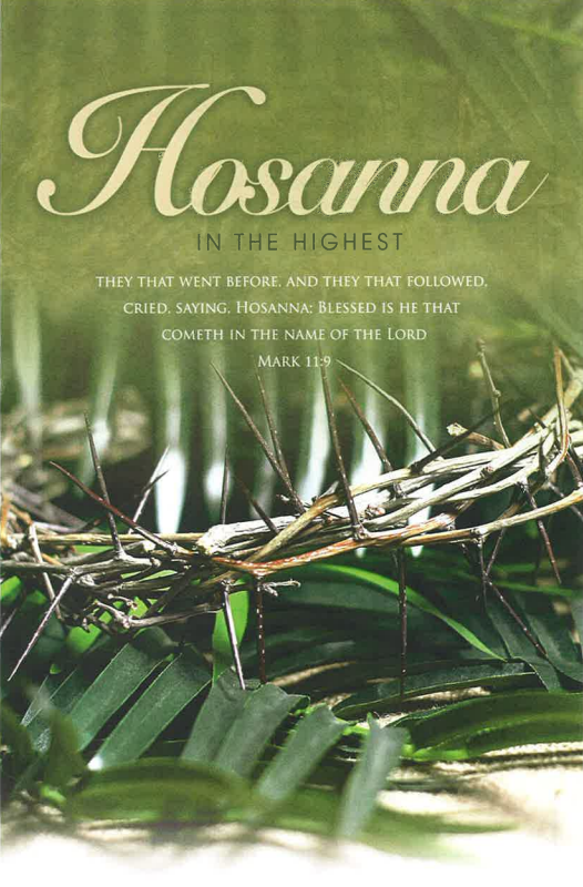 hosanna the masters table