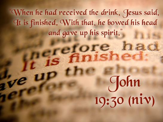 John 19 30