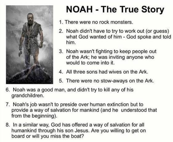 Noah, the true story