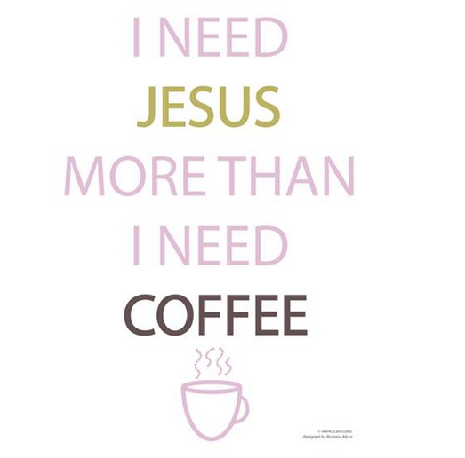 Jesus and coffee