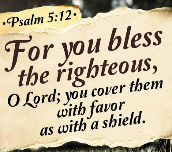Psalm 5 12