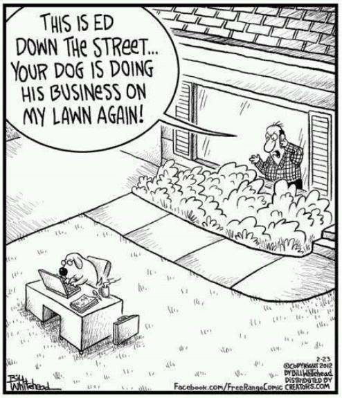 Van Til does his business