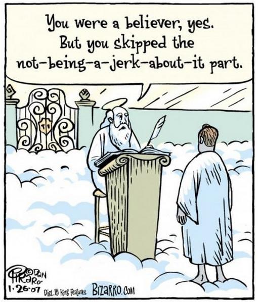 believer, however