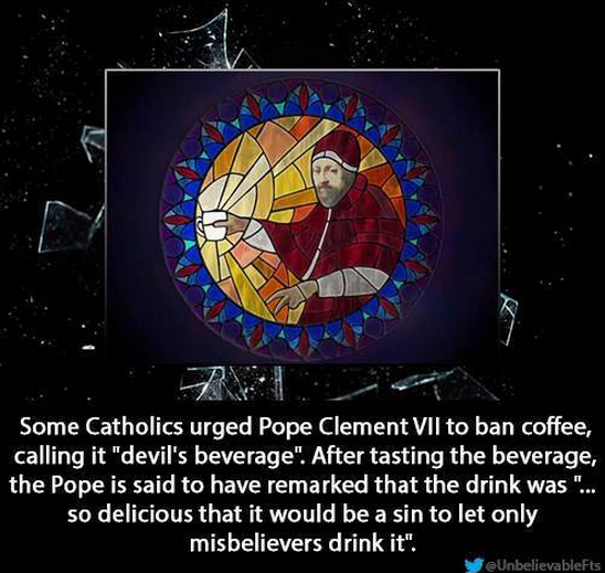 Clement VII on coffee