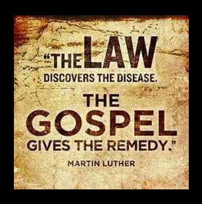 Luther on law, gospel