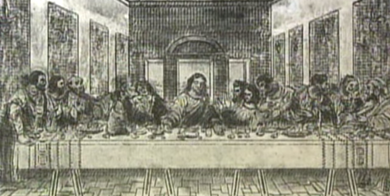 typewriter Last Supper