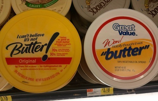 totally thought that was butter