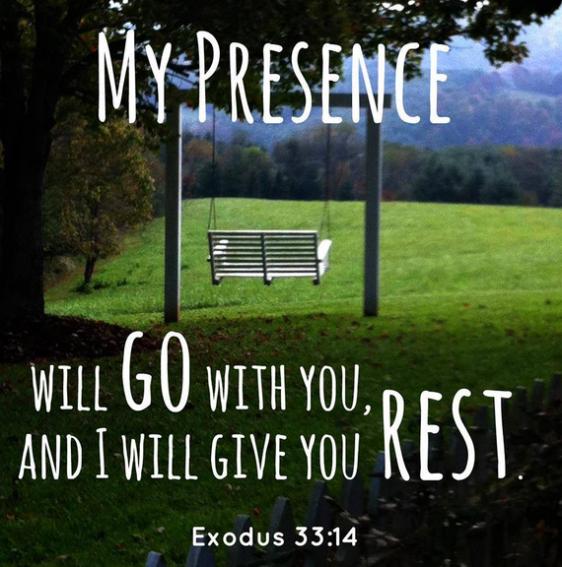 Exodus 33 14