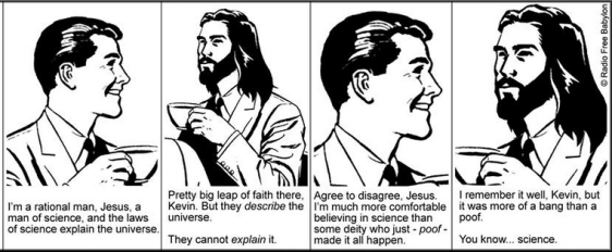 Coffee with Jesus, Science