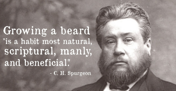 spurgeon on beards