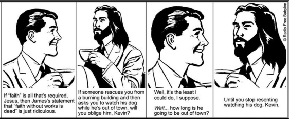 Coffee with Jesus, faith