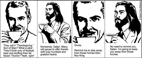 Coffee with Jesus, Thanksgiving