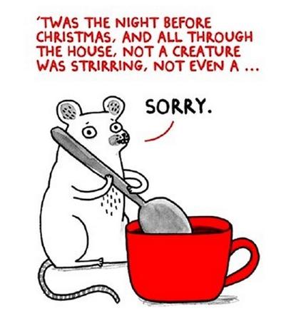 mouse, stirring