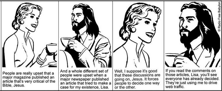 coffee with Jesus, newsweek