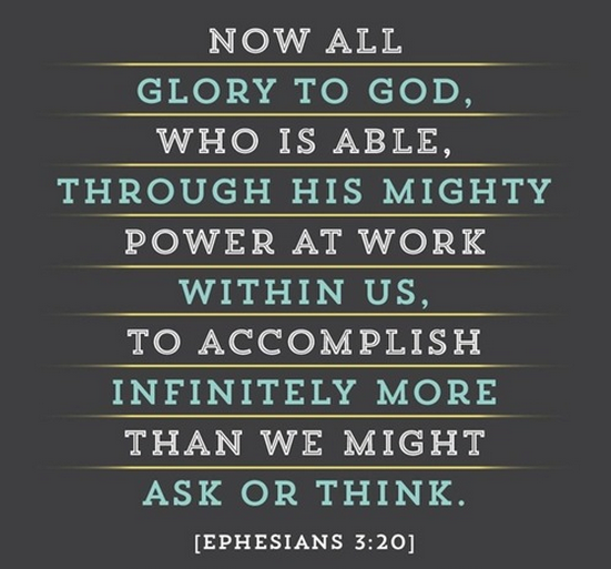 Eph 3 20