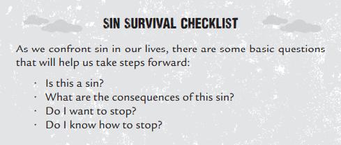 sin survival