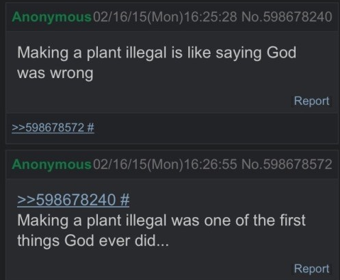 illegal plants
