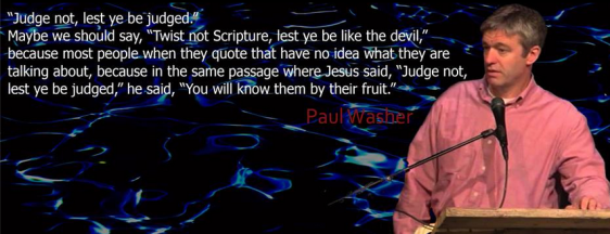 Paul Washer on knowing fruit