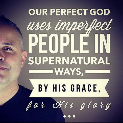 perfect God, imperfect people