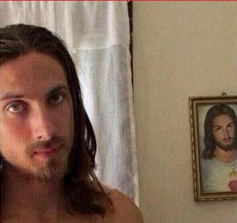 jesus selfie - Edited