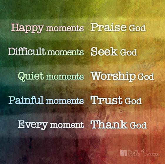 (verb) God