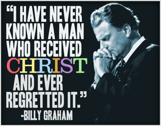 Billy Graham on Christ