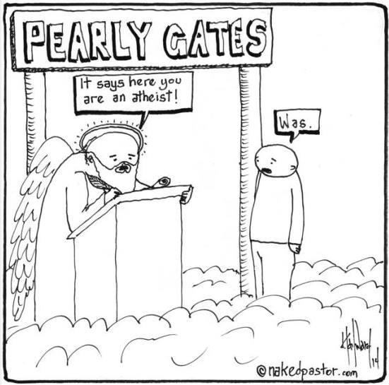 was atheist