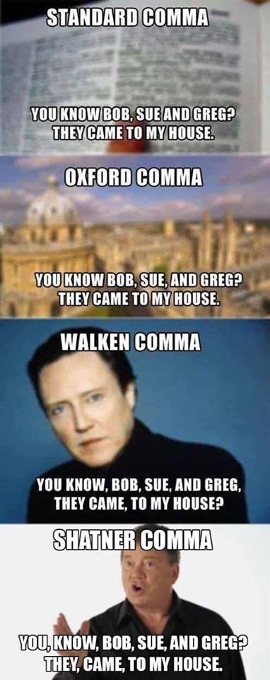 comma lesson