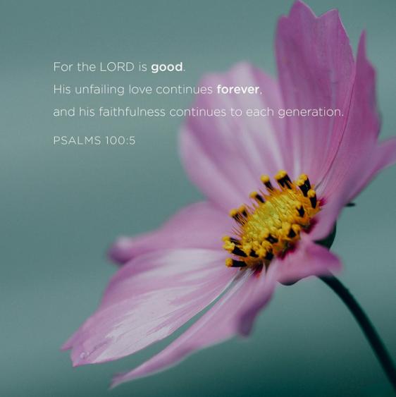 psalm 100 5