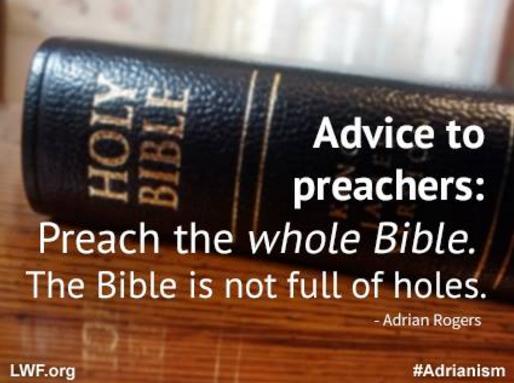 preach the Bible