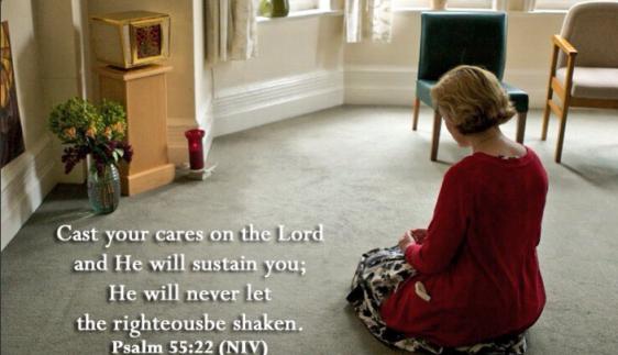psalm 55 22