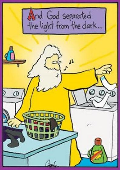 light from dark